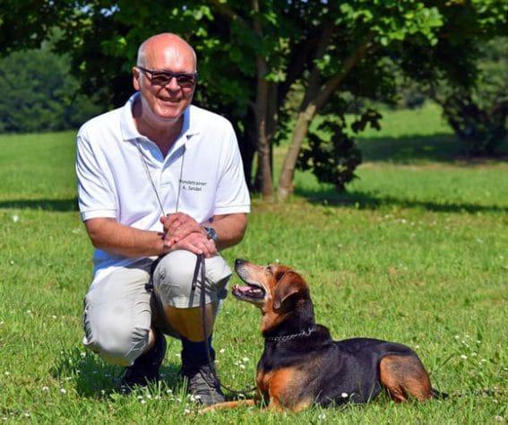 Hundetrainer Andreas Seidel